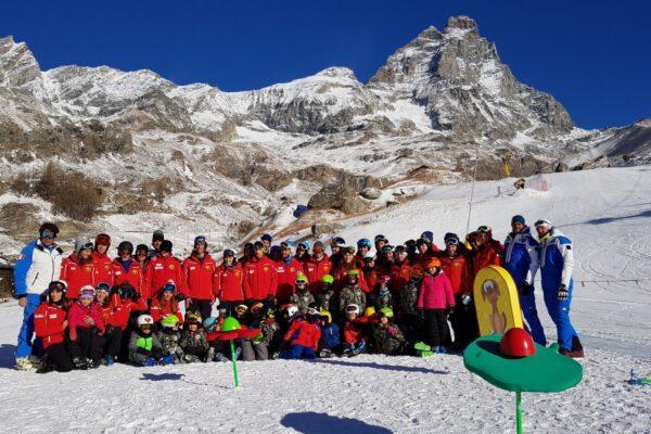 Formazione sci alpino: gli esami di Breuil-Cervinia sorridono a 38 candidati