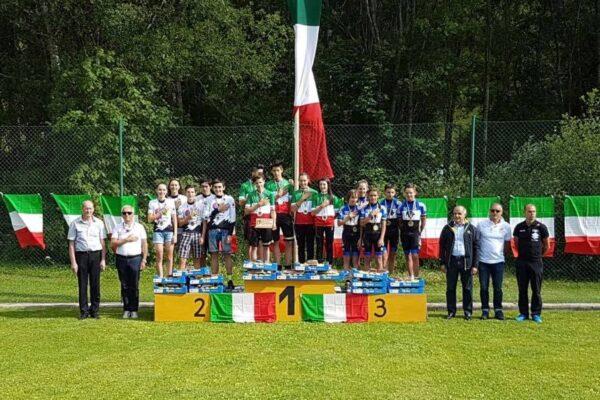 Cicli Lucchini d'argento nella staffetta tricolore. Gaia Tormena sul podio in Coppa Italia, Cuaz e Contoz festeggiano a La Mont Blanc