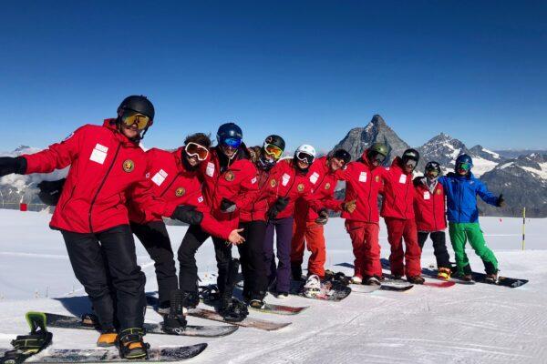 Il 9° corso di snowboard si tinge d'azzurro: cinque atleti delle nazionali iscritti in Valle d'Aosta