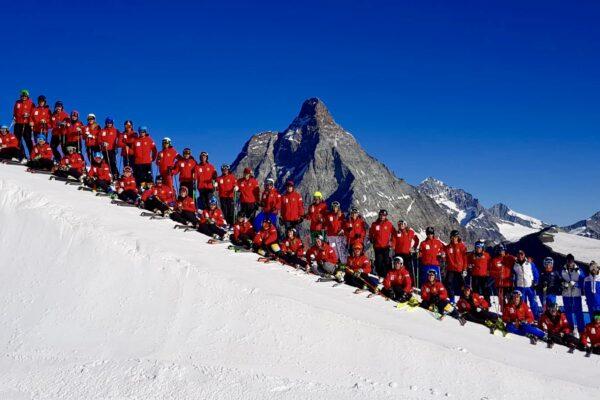 Sci alpino: positivi i primi moduli di formazione, ora la teoria. «Siamo soddisfatti del lavoro svolto in ghiacciaio»
