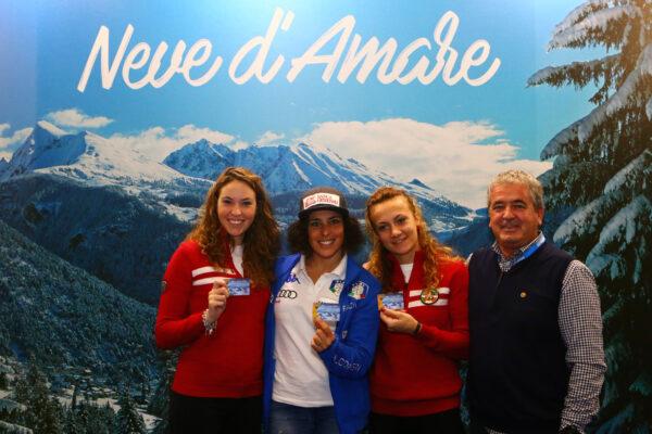 Monte Bianco prima Scuola Sci al Gran Premio Giovanissimi. Maestri e Aosta Valley Card in mostra a Skipass Modena