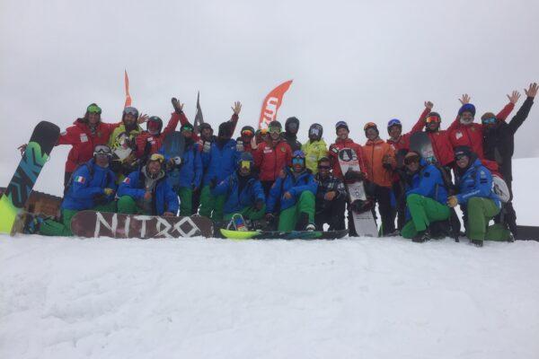 Snowboard: 13 promossi agli esami finali di Cervinia