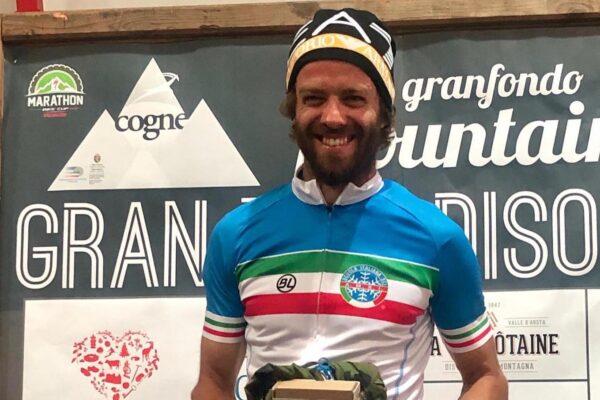 GranParadisoBike: Giuseppe Lamastra campione italiano maestri di sci