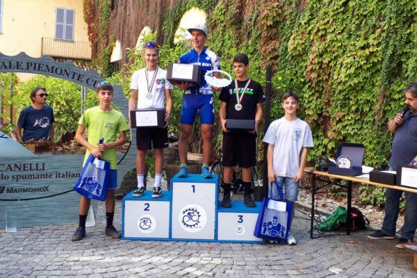 Gabriel Borre secondo nella Piemonte Cup di Canelli. Esordio su strada per Hervé Bionaz
