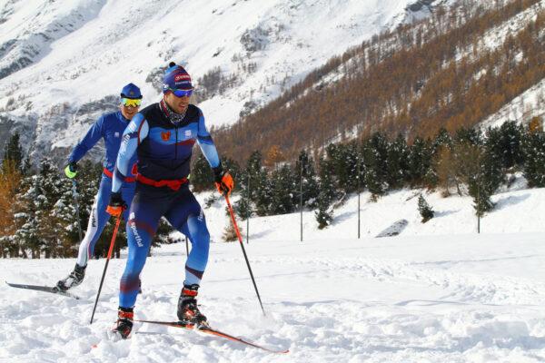 Federico Pellegrino e Francesco De Fabiani hanno inaugurato la stagione del fondo a Breuil-Cervinia