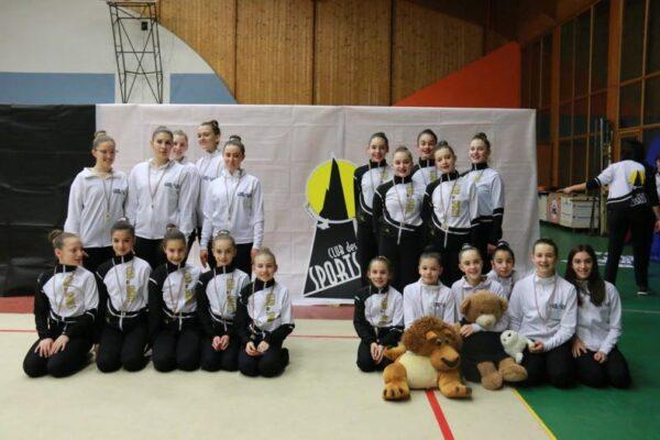 Il Club des Sports cresce e inaugura una sezione di ginnastica estetica, una novità per la Valle d'Aosta