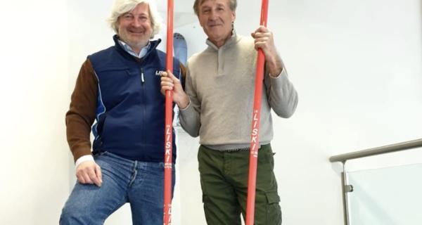 Piero Gros è il nuovo testimonial di Liski Sport Equipment