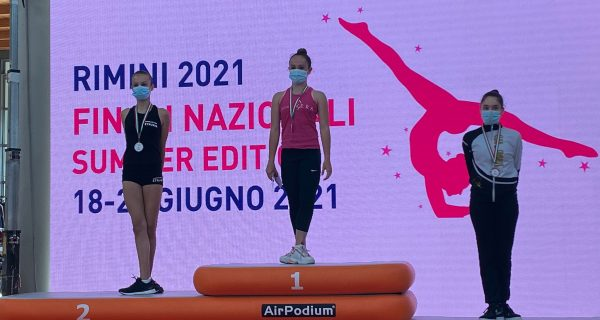 Alysée Casula è terza alle Finali Nazionali di Rimini