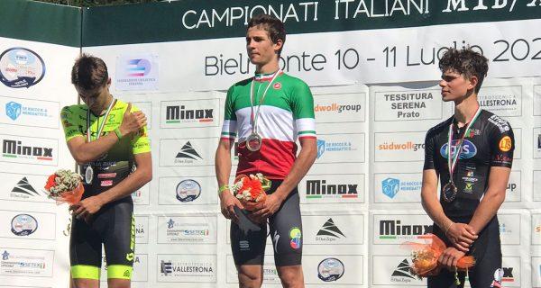 Yannick Parisi campione italiano juniores di cross country