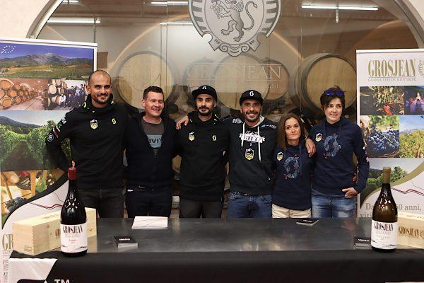 Grosjean Wine Trail: attesi Chevrier, Pellissier, Dennis Brunod e Luca Cagnati