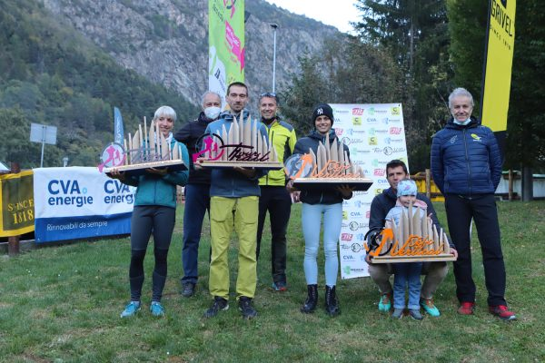 Bétemps, Jeannet, Conti e Déjanaz sono i vincitori del Tour Trail e del Défi Vertical